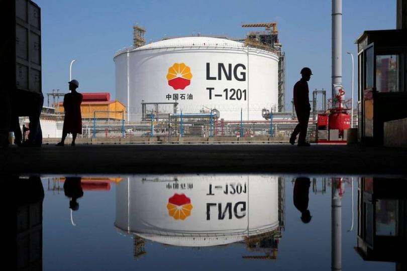 液化天然氣價格 1個月暴漲3倍