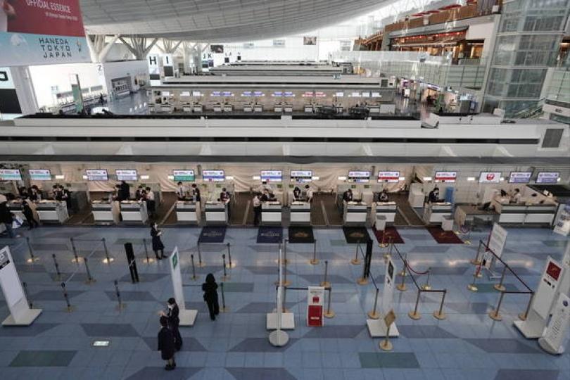 去年訪日外國遊客僅411萬 較前年大減87%