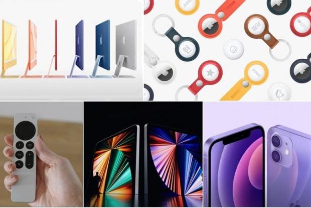 大改版七色 iMac 來了!蘋果春季發表會 5 大新品登場