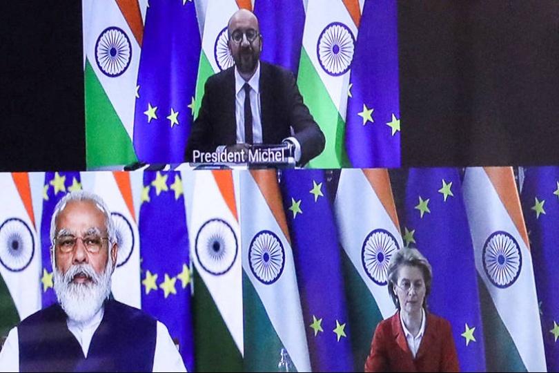 抗衡中國! 歐盟印度重啟自貿協定談判