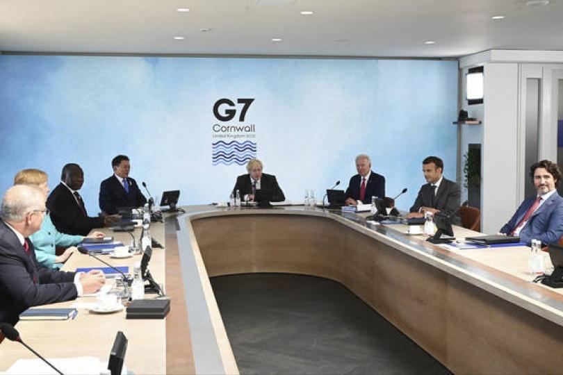 坦承風險!G7承諾合作解決碳洩漏問題
