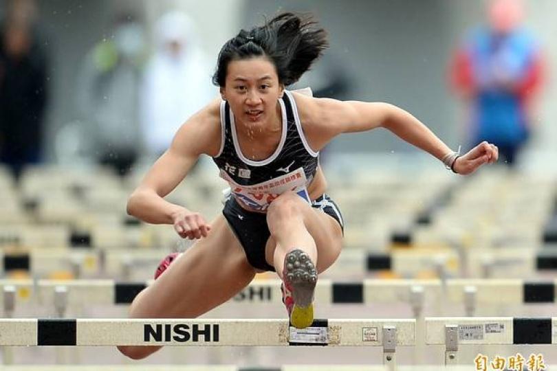 保證名額錄取!女將謝喜恩取得100公尺參賽資格