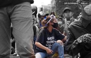 緬甸19歲正妹示威遭軍警爆頭 遺言曝光!