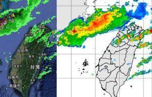 鋒面正朝台灣移動!最新大雷雨位置曝光