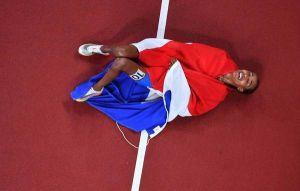 1500m預賽跌倒後狂飆 荷蘭哈桑 5000m奪金