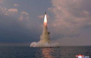 試射新型潛射彈道飛彈 北韓官媒證實