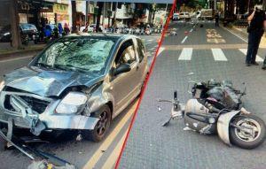 高雄婦騎車闖紅燈 遇超速駕駛釀1死1傷
