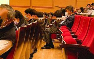 曝光陳時中聽音樂會畫面! 施景中:少數沒坐貴賓席的閣員