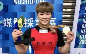 東奧銅牌陳玟卉 雙破全國紀錄全運會奪金