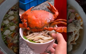 東港霸氣「飯湯」 潘孟安貼這碗超狂!