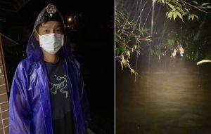虎豹潭沖走6學員 住戶主動搜救找到雨衣