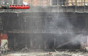 城中城大火撲滅近3天 今晨1樓疑復燃冒煙