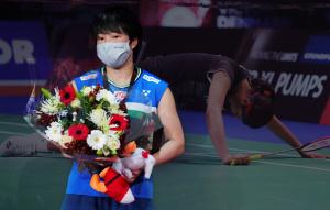 山口茜讓安洗瑩累到退賽 奪冠以自己為傲
