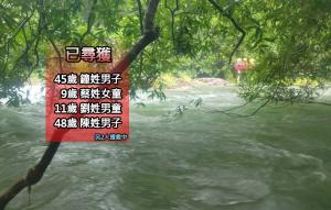 虎豹潭找到失蹤第4人 48歲男無生命跡象