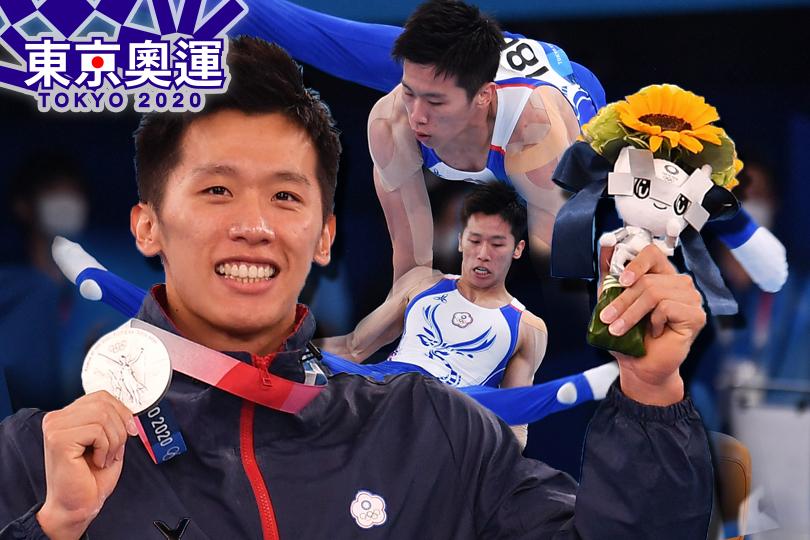 李智凱鞍馬奪銀!台灣體操史上奧運首獎牌