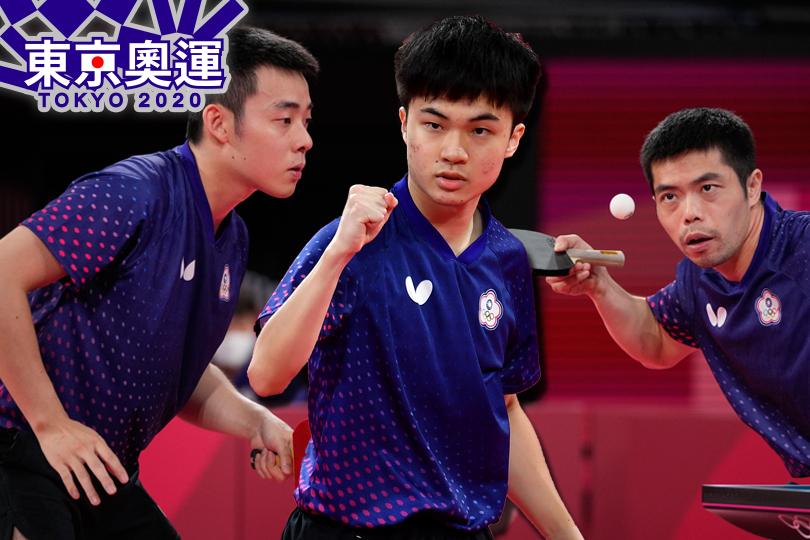 台灣桌球男團八強對德國  出賽時間看這裡
