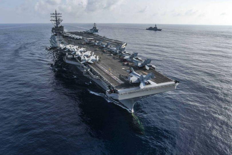 雷根號航行5個月8萬公里 今返抵橫須賀