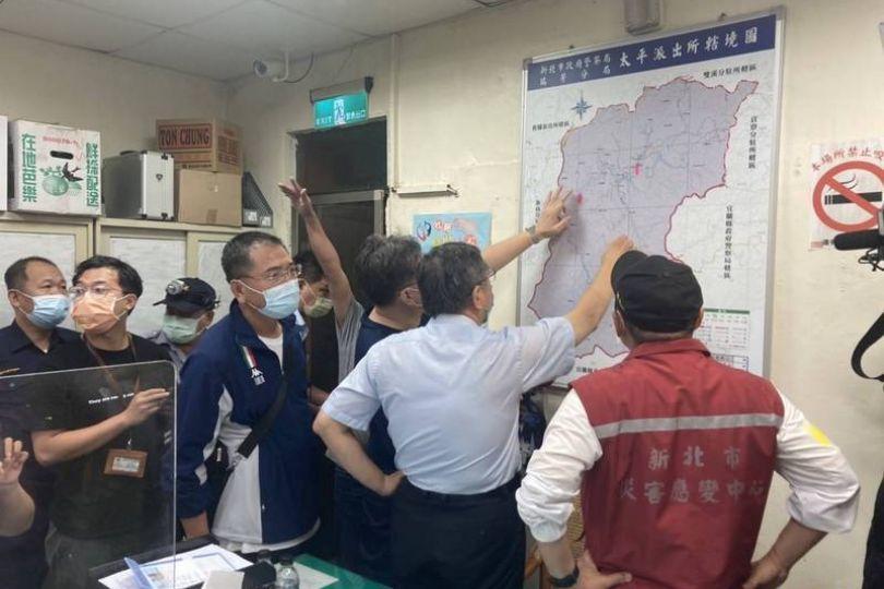 虎豹潭搜救不中斷 已設4攔截點 沿溪架燈