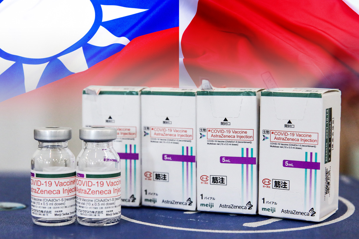 日本第6波贈台疫苗30萬劑 27日送出