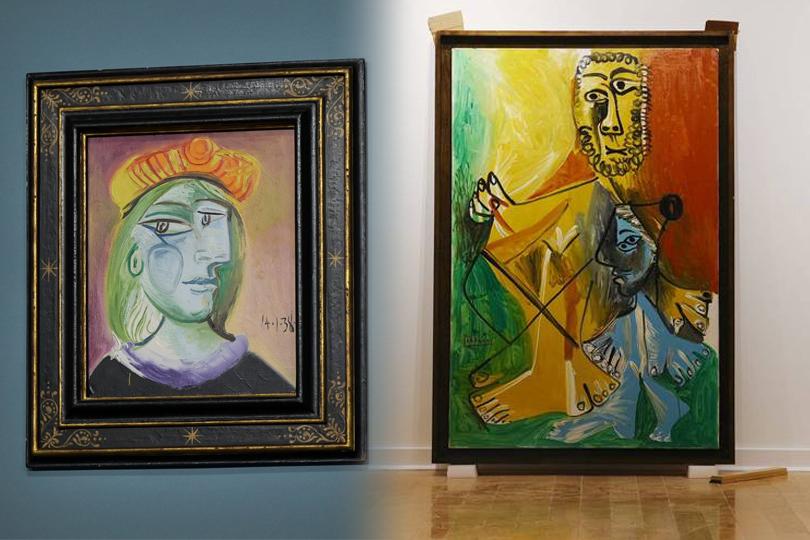 畢卡索11件作品拍賣 總成交價逾30億