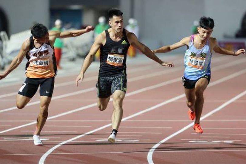 全運會》楊俊瀚仍是最強 100公尺四連霸!