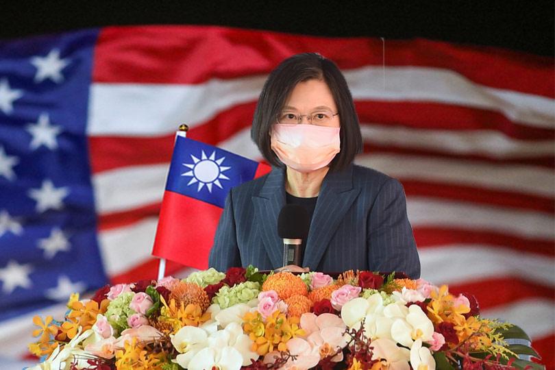 蔡總統證實美軍在台協訓 中國氣炸!