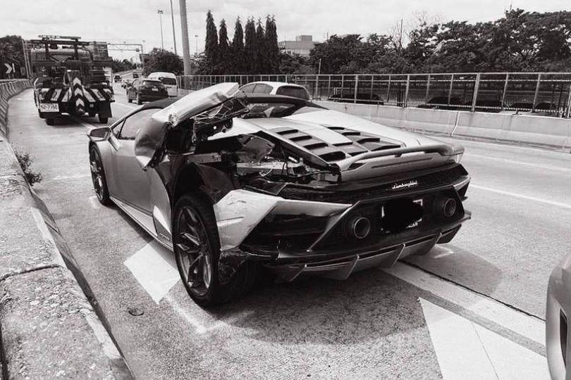 藍寶堅尼被撞壞 高富帥反幫肇事者修車