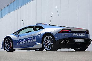 Lamborghini 捐贈 Huracán 給義大利警方