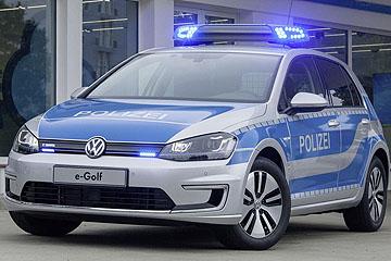 電動警車!Volkswagen 將發表 e-Golf 警用式樣