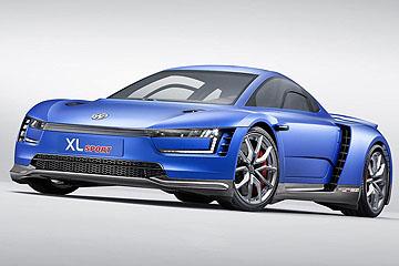 搭載 DUCATI 引擎 Volkswagen 推出 XL Sport 概念車