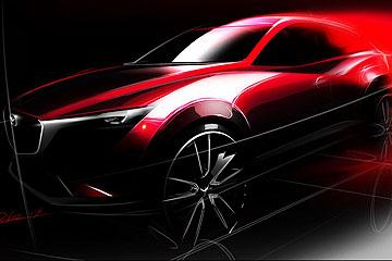 進軍入門跨界 Mazda CX-3 將於洛杉磯車展亮相