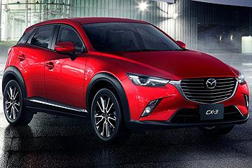 Mazda 新寵 CX-3 洛杉磯車展迷人首演