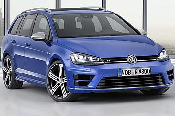 實用性能兼具 Volkswagen 推出 Golf R Variant