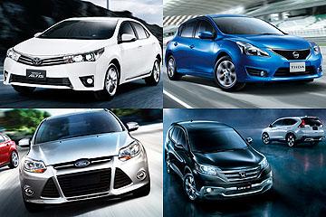 深入分析!2014 台灣新車銷售排行榜
