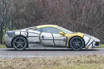 自然進氣不再?Ferrari 458M 最新諜照曝光