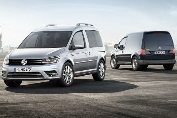 小型商旅改頭換面, Volkswagen Caddy 2015 年式亮相