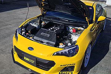 兩具重機引擎強行植入,讓 BRZ 擁有 V8 萬轉引擎!