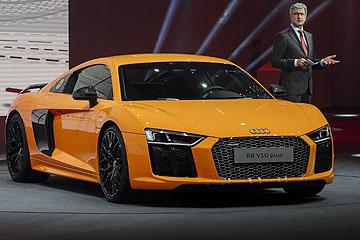 輕量更強化!第二代 Audi R8 日內瓦車展正式發表