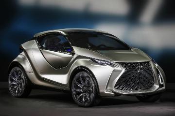 超Q都會科技車 Lexus LF-SA Concept微型類SUV