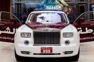 不讓杜拜警方搶盡鋒頭!  Rolls-Royce Phantom 加入阿布達比警車陣容