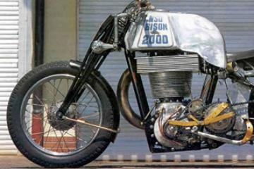 世界上最大的單缸引擎摩托車 排氣量高達2000c.c超驚人!