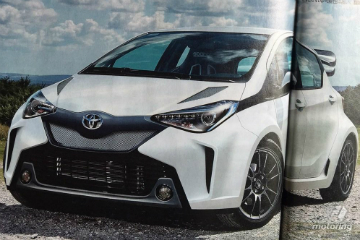 WRC前哨戰? Toyota打算量產暴力Yaris!