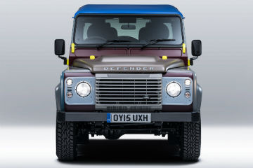 兼具時尚與實用   Paul Smith聯名Land Rover Defender