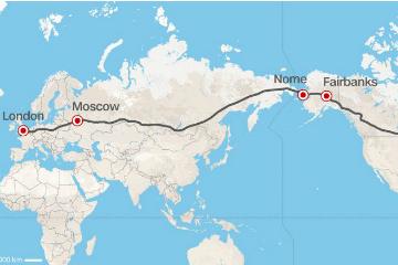 俄羅斯的野望?  打造世界最長跨歐亞美高速公路!
