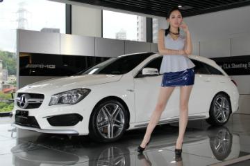 優雅小獵跑  M.Benz CLA Shooting Brake 台灣開賣