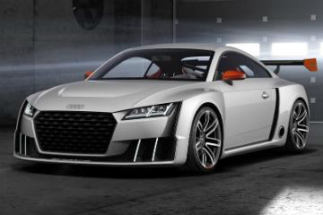 Audi TT clubsport turbo concept 電控渦輪搭載  馬力超猛爆!