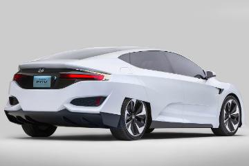 Honda FCV 燃料電池車  2020 年量產進軍國際