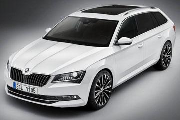品牌旗艦旅行車!Škoda 首度釋出 Superb Combi 廠照
