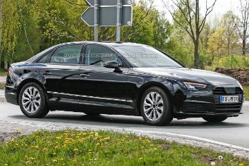 新一代 Audi A4 無偽裝捕捉  科技味與空間同步強化