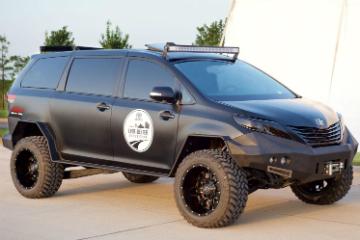 混血設計創意  Toyota Ultimate Utility Vehicle 多功能越野車